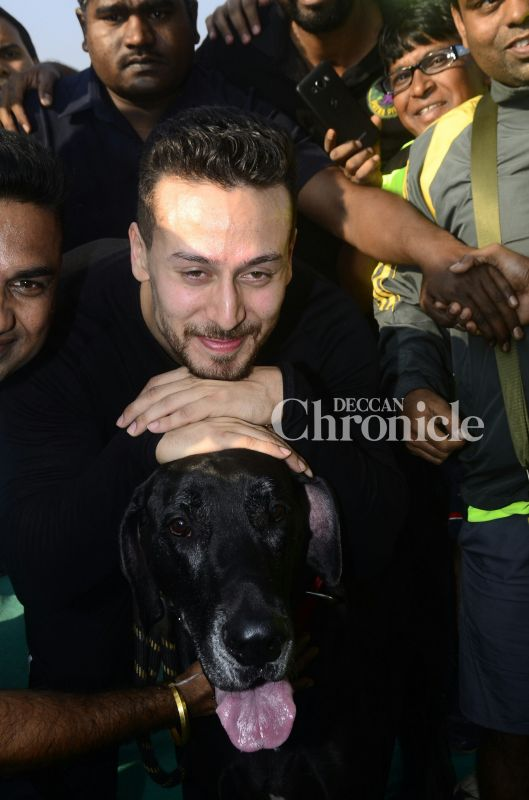 Tiger Unveils New Look For Baaghi 2 As He Flags Off First Of Its