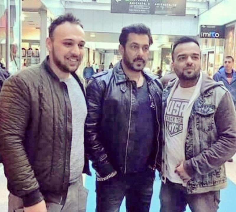 Salman Khan Is In Austria For Tiger Zinda Hai Shoot Poses With Fans