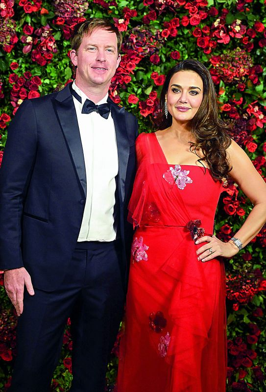 Preity Zinta and Gene Goodenough.