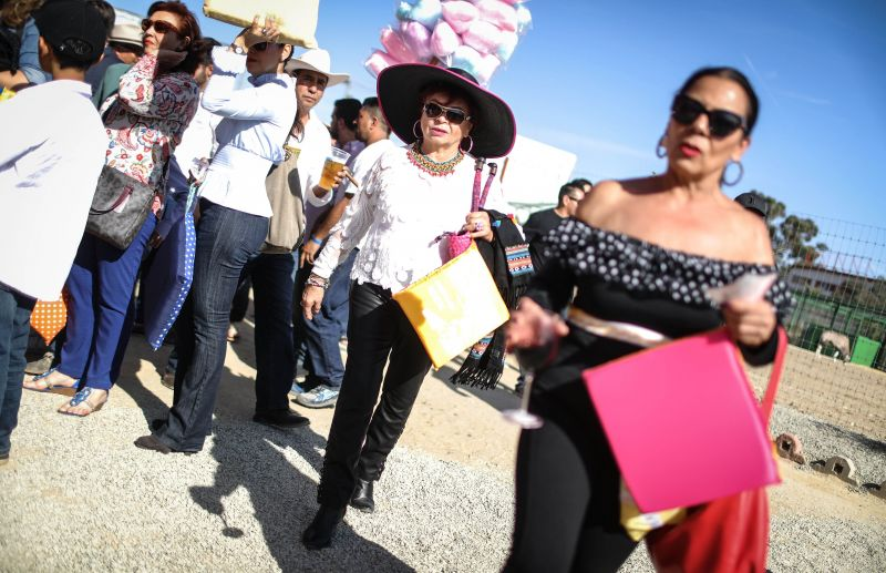 People wait on line to enter a sold-out bullfight on April 8, 2018 in Tijuana, Mexico. People in Mexico have mixed opinions about bullfighting in the country. Some believe it is tradition and others want it to be banned. (Photo: AFP)