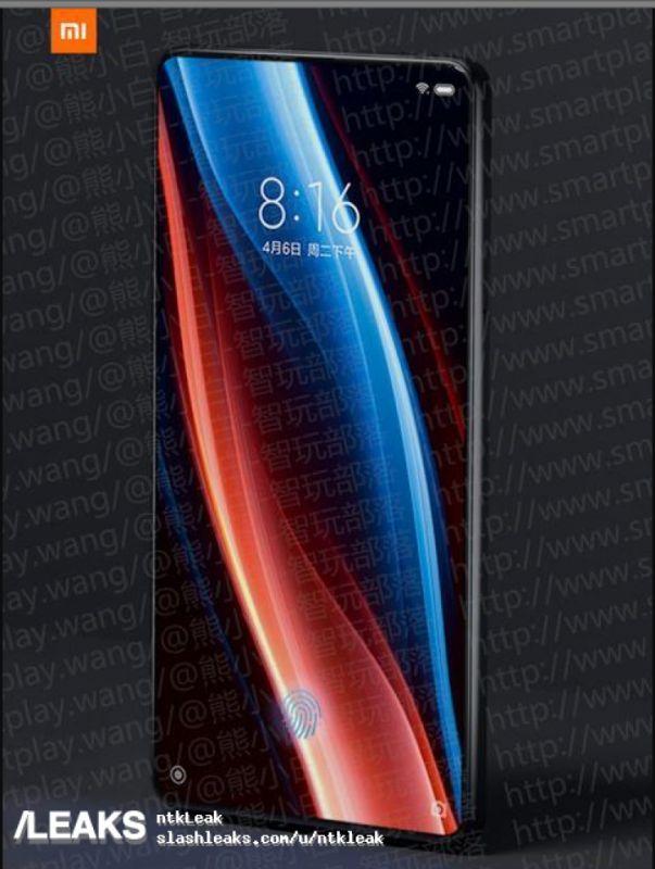 Xiaomi Mi MIX 3 leaks
