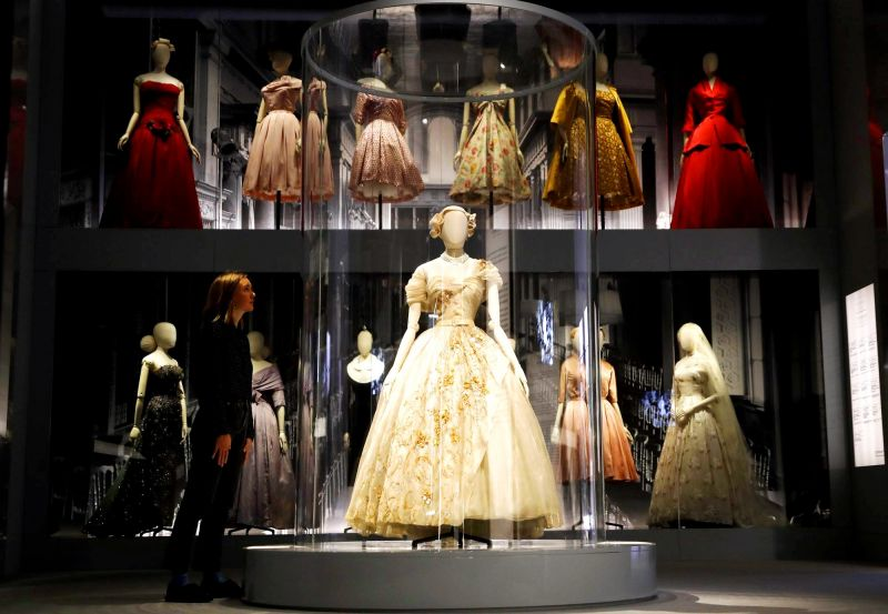 "9c371a4fb7d ""Christian Dior  Designer of Dreams"" opens to the public Saturday and runs  until """