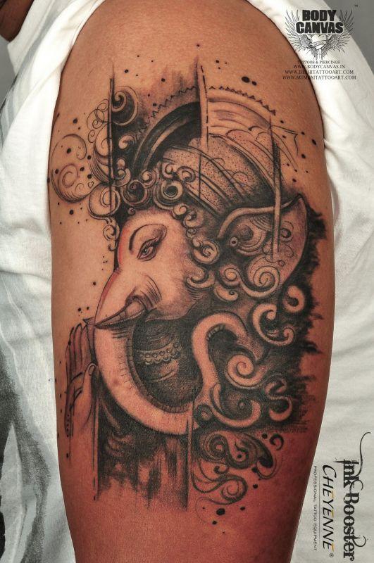 A tattoo with a modern twist.