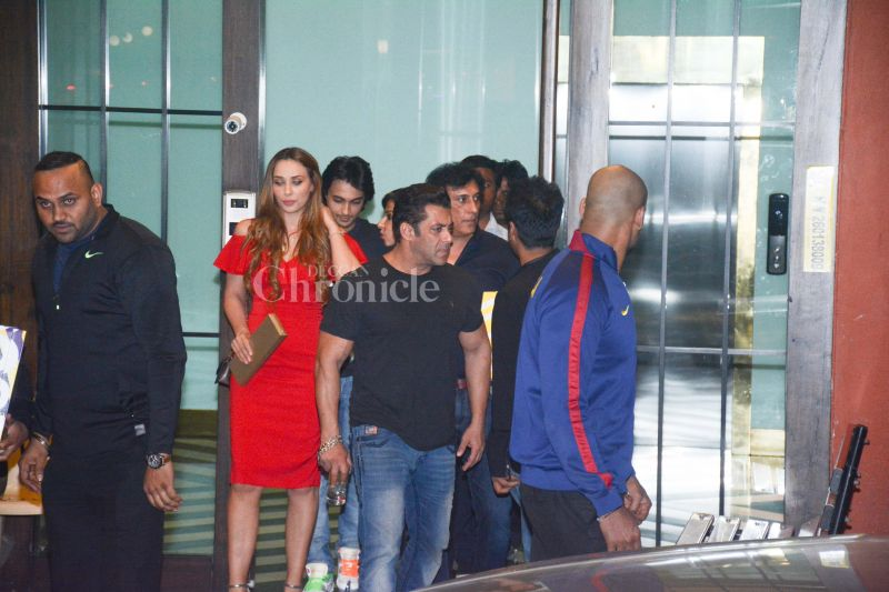 Salman Khan with Iulia Vantur.