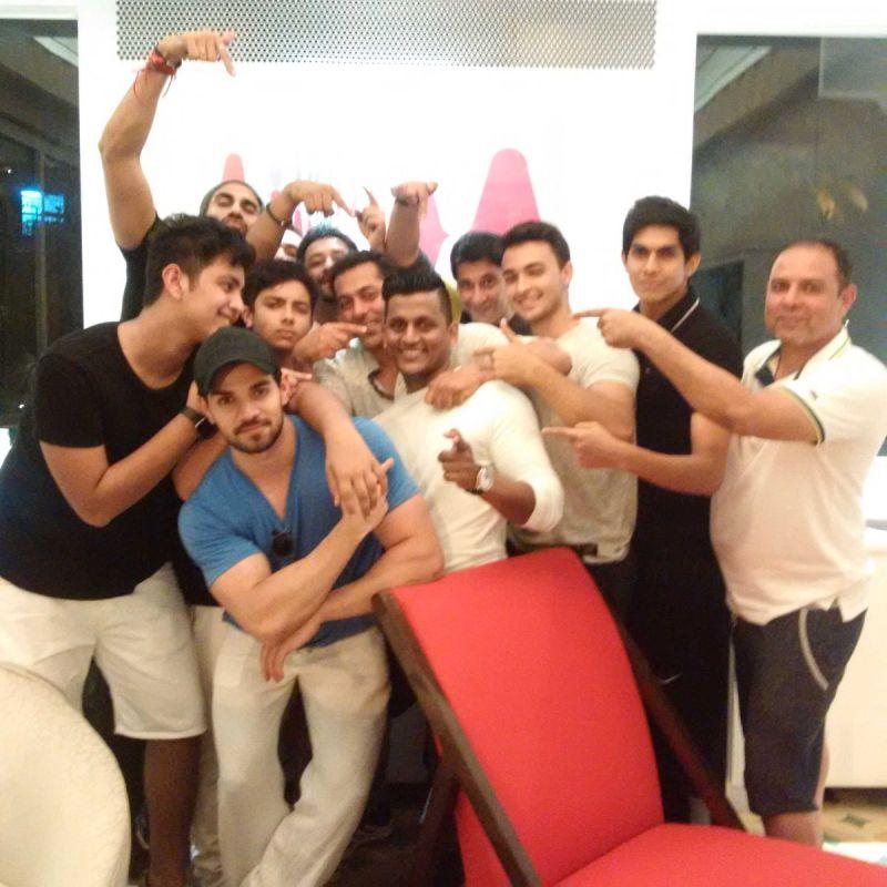 Salman Khan party Facebook pic