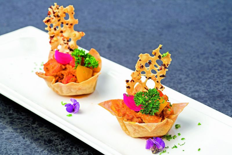 In full bloom: Nothing dresses up a dish like a garnish of blossoms.