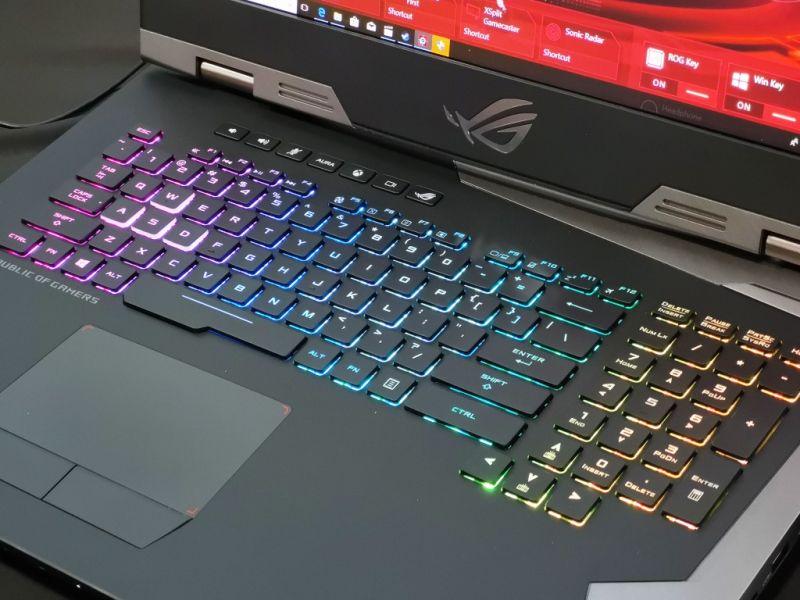 ASUS gaming laptops 8th-gen Intel processors
