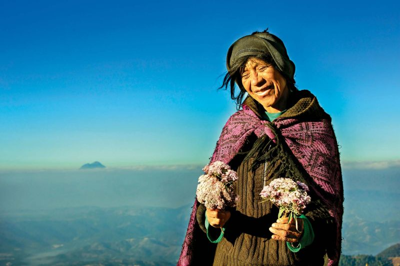 On the road to fields of Coffee, Guatemala, 2012