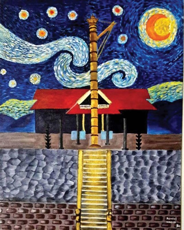 Starry Night - Sabarimala