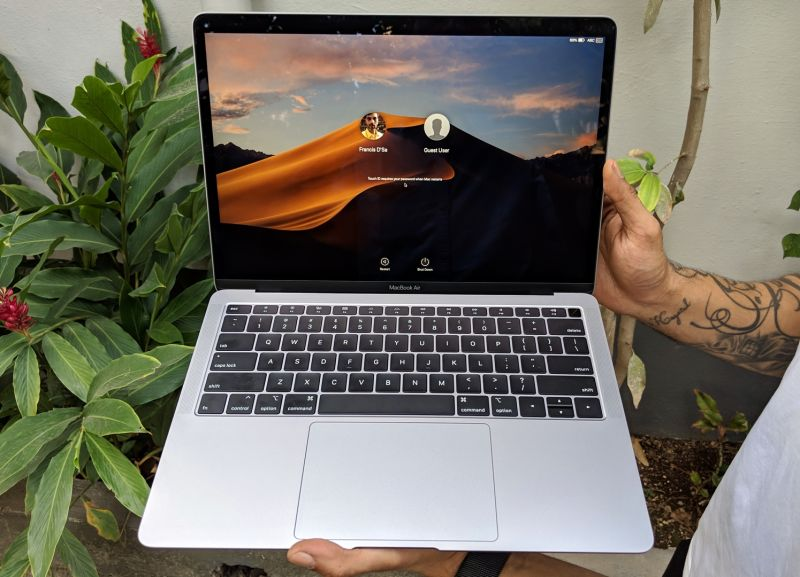 3d525d519c5 Apple MacBook Air 2018 review  A long-awaited fresh Air