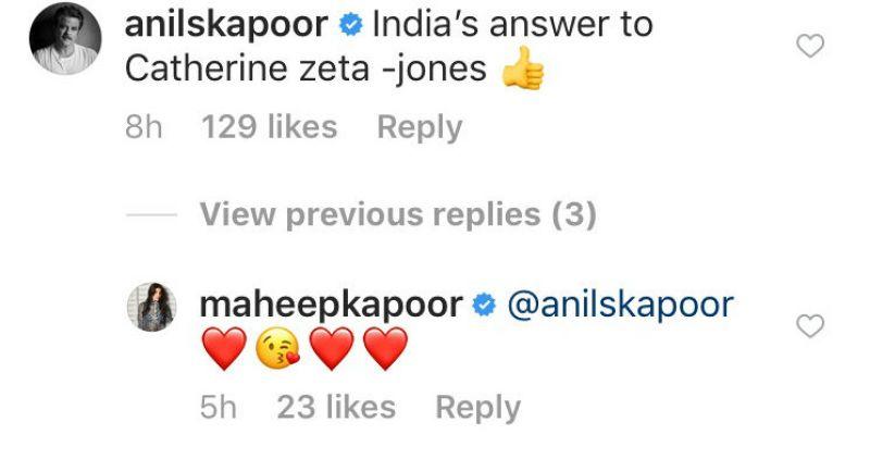 Anil Kapoor on Shanaya.