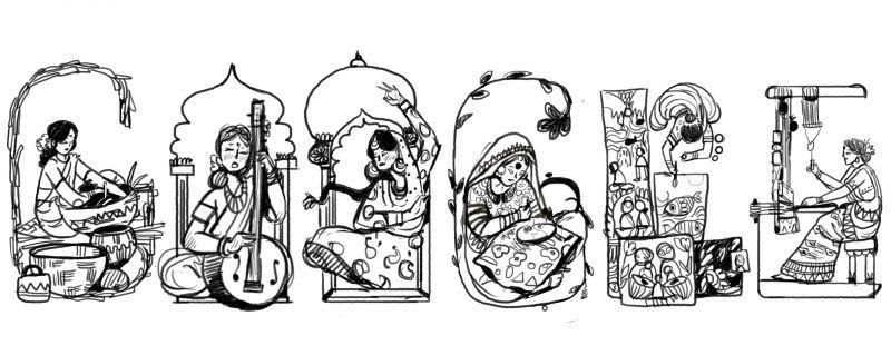 Kamladevi Chattopadhyay draft doodle (Photo: Google)