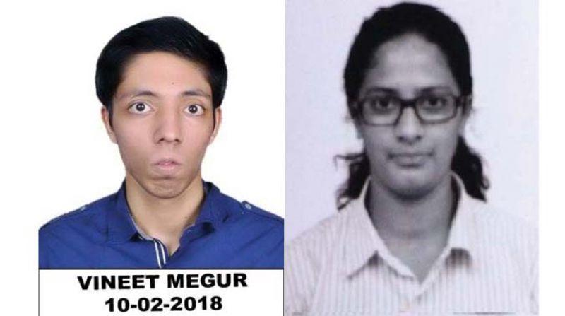 Vineet Megur and Aneeta James