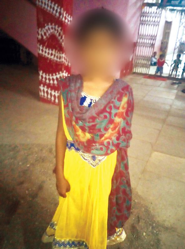 Ten-year old Samavva has been shifted from her village to the state government run girls home.