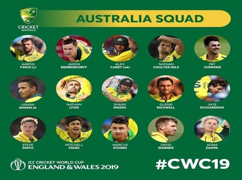 (Photo: Australia cricket team/ Twitter cwc)