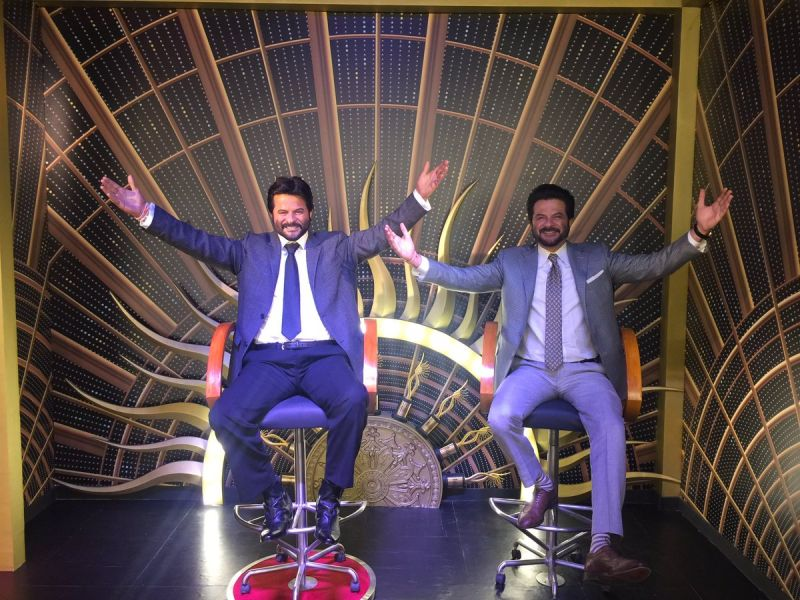 Anil Kapoor gets his wax statue in Madame Tussauds