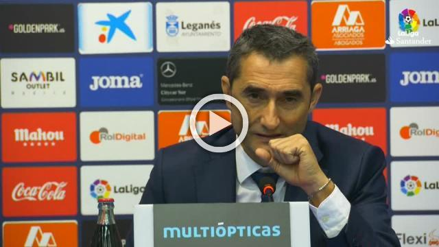 Leganes win was 'difficult' - Barca coach Valverde