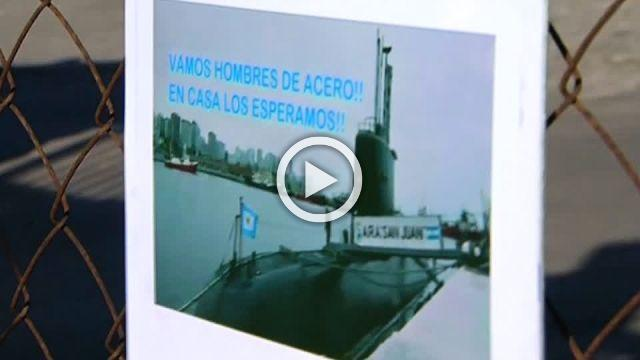 Possible signals from missing Argentine submarine