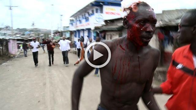 Violence in Nairobi after Supreme Court upholds election result