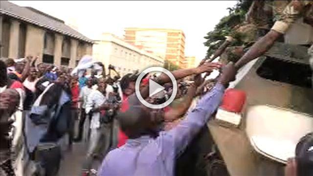 Scenes of jubilation as Zimbabwe's Mugabe resigns