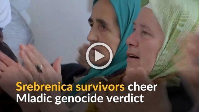 'Justice is done', says Srebrenica survivor on Mladic verdict