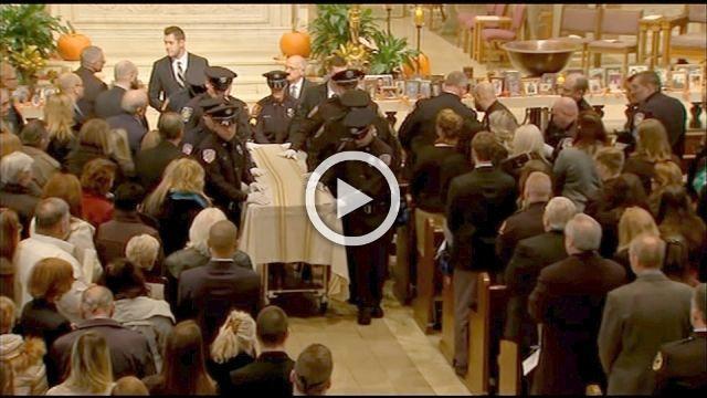 Thousands mourn slain P.A. officer