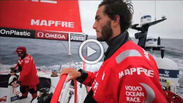 MAPFRE holding lead in Volvo Ocean Race