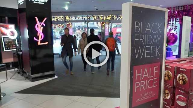 UK retailers tempt shoppers with Black Friday deals
