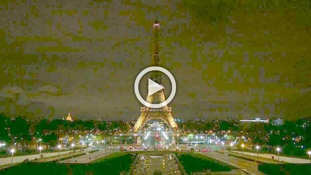 Eiffel Tower goes dark for Egypt mosque attack victims