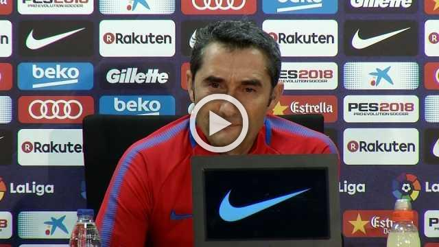 Barca's Valverde looks ahead to Villarreal test