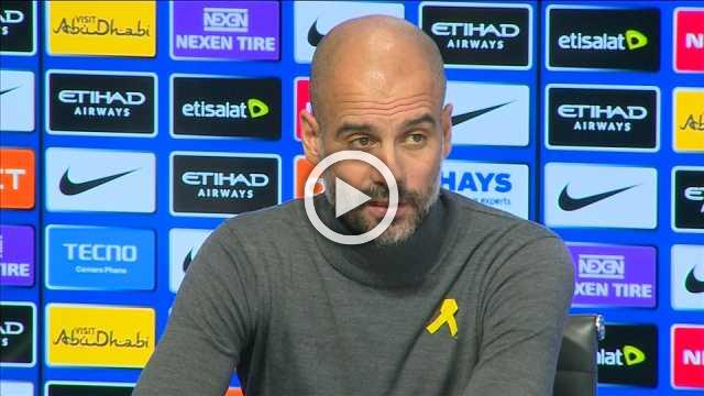 City maybe in need of another central defender, says Guardiola