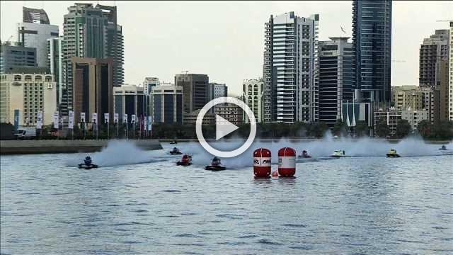 Alex Carella wins Sharjah Grand Prix and his fourth F1 Powerboat World title