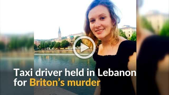 Lebanon detains taxi driver suspected of killing British embassy worker