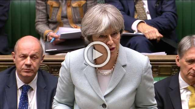 UK's May pitches status quo Brexit transition to parliament