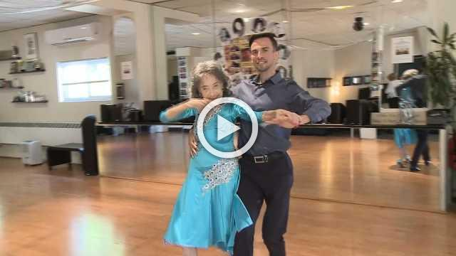 """""""I'm the boss"""": 99-year-old still dancing up a storm"""
