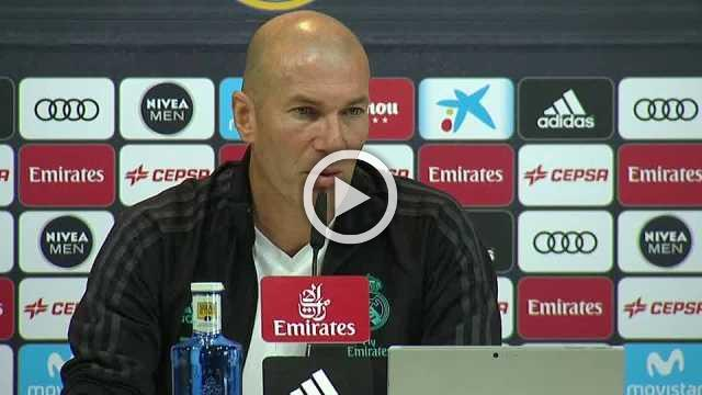 Zidane says Real must improve for upcoming PSG match