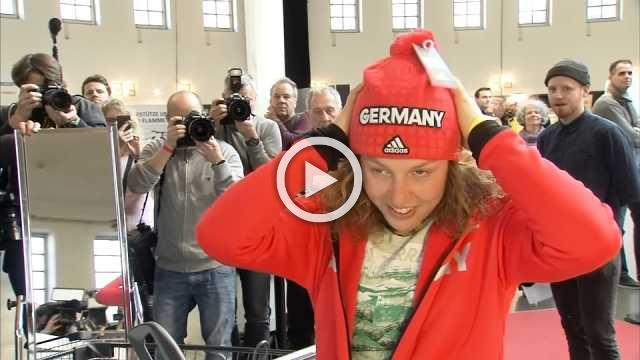 German Olympic athletes hope for medals from Pyeongchang