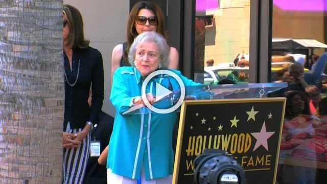 Betty White celebrates 96