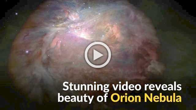 3D fly-through video reveals beauty of Orion Nebula