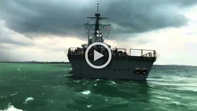 U.S. Navy files homicide charges over warship crashes