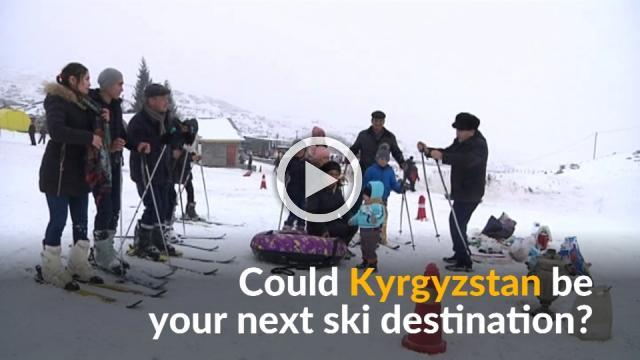 Kyrgyzstan bets on snowy mountains to boost tourism appeal