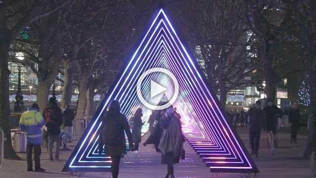 Festival of Lights brightens up London's streets