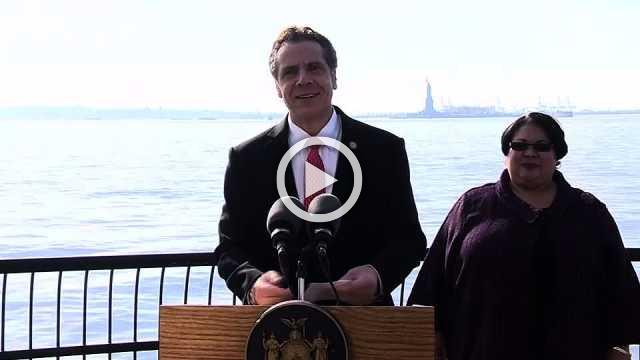 New York governor says Statue of Liberty to reopen