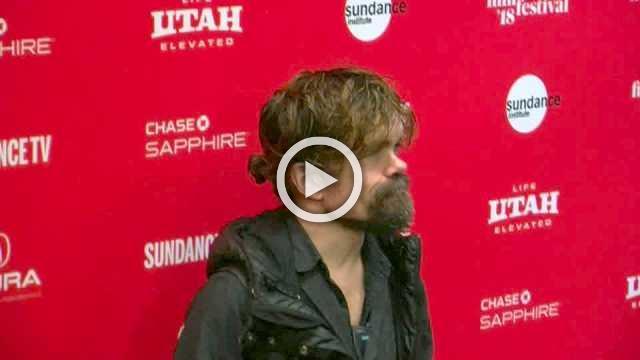 Peter Dinklage arrives at Sundance