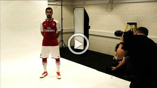 Henrikh Mkhitaryan joins Gunners - says it was always his ambition