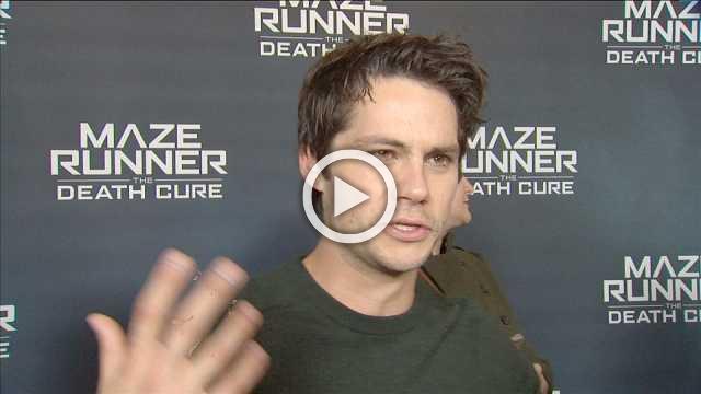 """Maze Runner: The Death Cure"" star talks fan support"