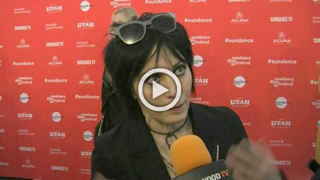 Joan Jett arrives at Sundance