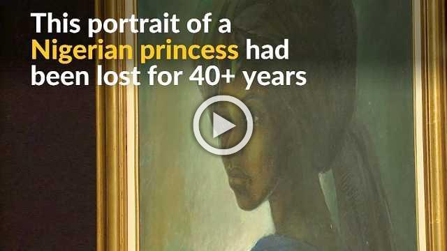 Long-lost Nigerian masterpiece found in London