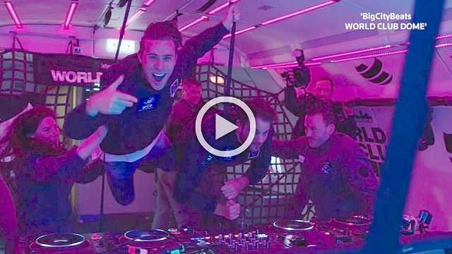 DJs, fans take part in mind-blowing zero gravity club set