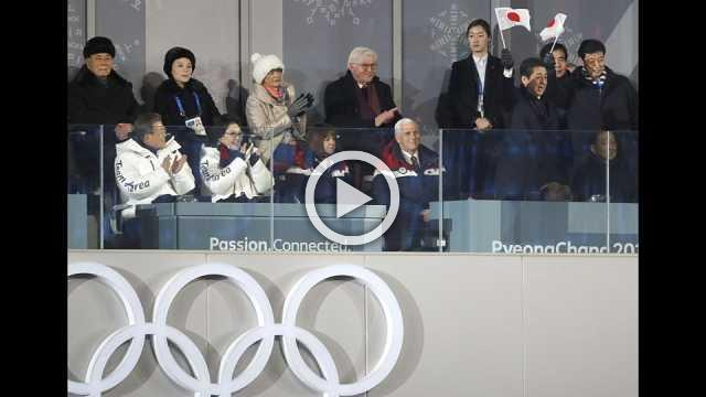 Pyeongchang Winter Olympic Games open with spectacular ceremony